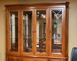 thomasville glass kitchen cabinets thomasville cherry arts crafts china cabinet fcg home inc