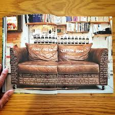 Used Leather Sofa by Used To Have A Money Green Leather Sofa With The Lyrics To Juicy