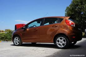 voiture ford prix ford fiesta 1 25 l trend a partir de 39 980 dt