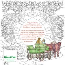 amazon com color the classics anne of green gables a coloring