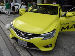 yellow toyota file toyota mark x