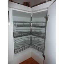 Kitchen Cabinet Storage Shelves Kitchen Cabinet Interiors Pantry Units Corner Rotating Shelves