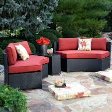 Curved Patio Furniture Set - curved bench seating outdoor u2013 ammatouch63 com