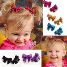 barrettes hair baby hair children hair accessories kids sequin bow