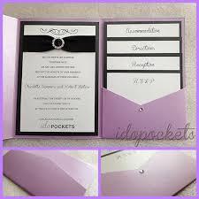 pocket wedding invitation do it yourself pocket wedding invitations elmundoenfamilia
