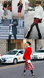 plaid tartan how to style plaid u0026 tartan skirts 2018 fashiongum com