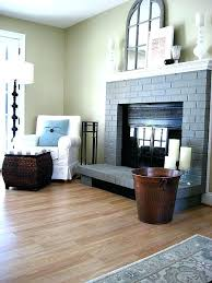 paint colors for fireplaces painting fireplace white brick before