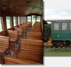 Coach Interior For Cars Kauai Plantation Railway The Passenger Cars