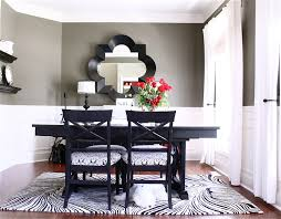 Black And White Dining Room Ideas by Roma Black And White Round Dining Table 4 Chairs Starrkingschool