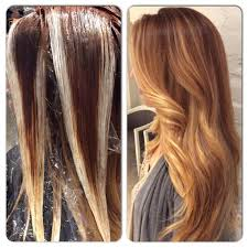 highlights vs ombre style balayage color technique this is what the technique looks like for