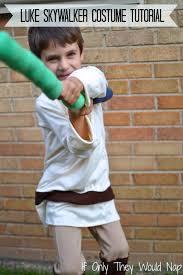 Luke Skywalker Halloween Costume Child Cheap Diy Luke Skywalker Costume Ideas