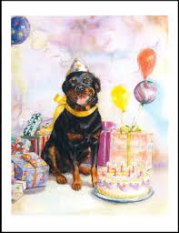 the inky paw rottweiler gifts note cards
