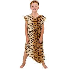 cavewoman costume caveman or cavegirl costume for kids one size 5 9 years funtober