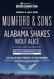 summer time hyde park lineup announced alabama shakes