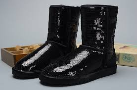 womens ugg boots canada ugg sparkles 3161 boots black uggzm00000071