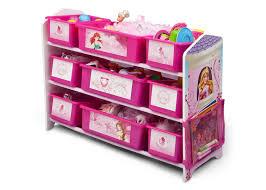 Disney Toy Organizer Princess Plastic 9 Bin Toy Organizer Delta Children U0027s Products
