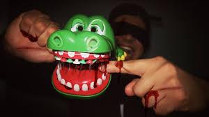 Challenge Blood Blindfold Crocodile Dentist Challenge Blood Alert