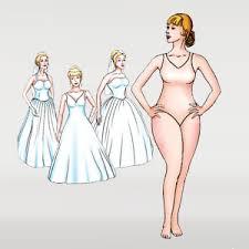 wedding dress shape guide pear shape large hips type sell my wedding dress