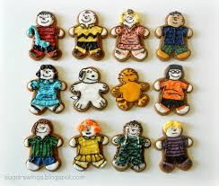 sugar swings serve some peanuts gang gingerbread men