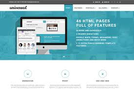 bootstrap themes header universal 45 pages free bootstrap 4 business e commerce template