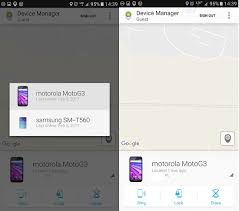 android device manager how to find my phone with android device manager