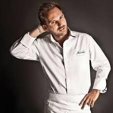 clement cuisine vetement veste homme manches longues impéria blanche clément design taille