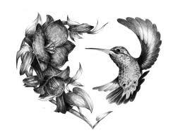 Flower And Bird Tattoo - best 25 black flower tattoos ideas only on pinterest tattoo
