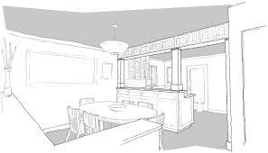 Sketch Kitchen Design by Early Design Sketches 92nd Street Remodel U0026 Addition U2013 Emerald Seven