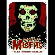misfits sayreville new jersey 2013 screen printed poster u2013 enemy ink