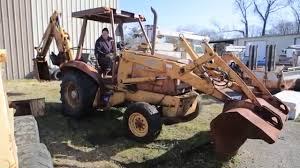 case 580k backhoe tag 47425 youtube