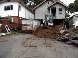Basement Dig Out Cost by Excavating Under A House Youtube