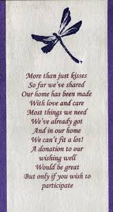 Invitation Card For Get Together Best 25 Wishing Well Poems Ideas On Pinterest Honeymoon Fund