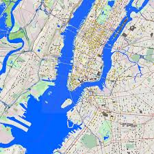 New York Area Map by City Maps New York