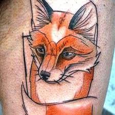 30 fox tattoos tattoofanblog