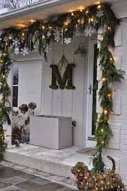 outdoor hanging snowflake lights 20 outdoor décor ideas with christmas lights front porches