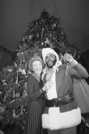 Nancy Reagan by Mr T Recalls Anti Drug Campaign With Nancy Reagan Ny Daily News