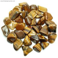 solar plexus crystals tumbled golden tiger eye africa tumbled stones golden tiger