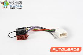 nissan almera radio code nissan almera 2005 iso harness adaptor lead cable autoleads