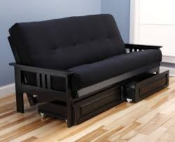europa vintage black queen size sofa bed by mobista height