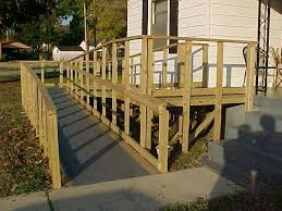 Wheelchair Ramp Handrails Handicap Accessible Ramps