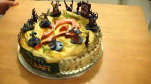 world of warcraft horde battle cake youtube