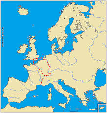 Map Of Medieval Europe Page On Early Medieval Trade Routes History 299 Arthur Deegan