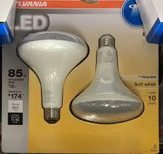 65 Watt Equivalent Indoor Led Flood Light Bulb by Sylvania 2 Pack Ultra 13 Watt 85w Equivalent 2 700k Br40 Medium