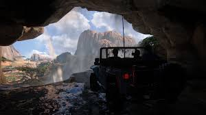 drake house and cars uncharted 4 is the best and possibly last game of its kind the