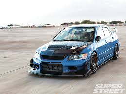 blue mitsubishi lancer mitsubishi lancer evolution features news photos and reviews page2