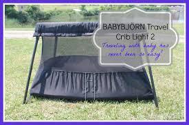 Crib Light Babybjörn Travel Crib Light 2 Thrifty Nifty Mommy