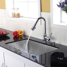 Stainless Faucets Kitchen Kitchen Exciting Kitchen Sinks And Faucets For Your Home Decor