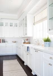 Classic White Kitchen Cabinets Pacific Palisades Project Great Room U0026 Kitchen Studio Mcgee