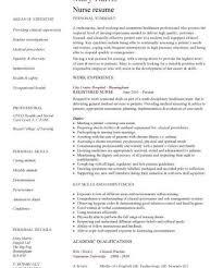 Free Nursing Resume Samples by Nursing Resume Samples Haadyaooverbayresort Com