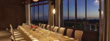Private Dining Rooms Los Angeles Private Dining With A View In Los Angeles Hotel Angeleno